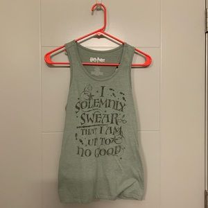 I solemnly swear tank top M